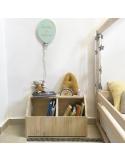 Cabecero cama casita con Luna