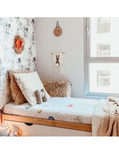 Cama Montessori con nido