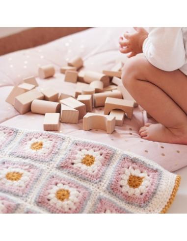 Bloques de madera, juego de construcción