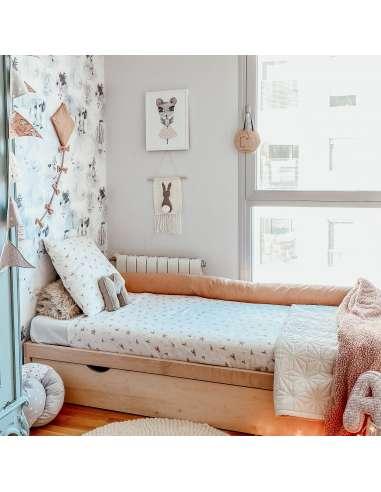 Rulo protector cama